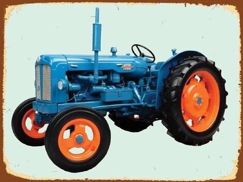 Peltikyltti, Fordson Major -traktorista