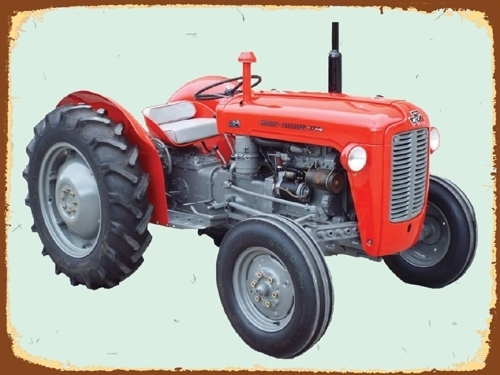 Peltikyltti, Massikasta, M-F 35 -traktorista