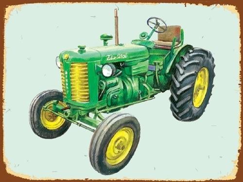 Peltikyltti, Zetor 25A -traktorista